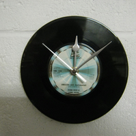 "Diana Ross & Lionel Richie - ""Endless Love"" 7"" Vinyl Record Wall Clock"