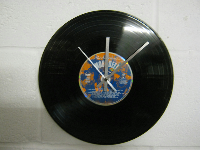 "Mobb Deep - ""The Infamous"" 12"" CD & Vinyl Record Wall Clock"