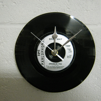 "Brian May - ""Driven By You"" 7"" Vinyl Record Wall Clock"
