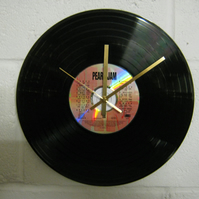 "Pearl Jam - ""Ten"" 12"" CD & Vinyl Record Wall Clock"
