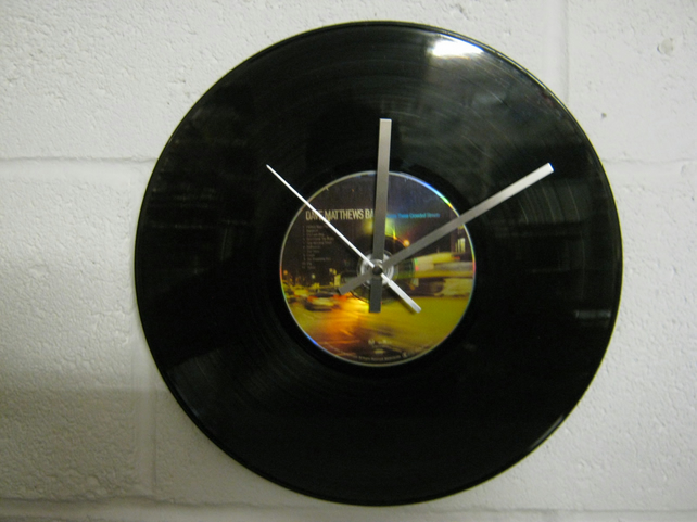 "Dave Matthews -  ""Before These Crowded Streets"" 12"" CD & Vinyl Record Wall Clock"