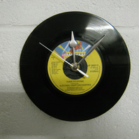 "Electric Light Orchestra  - ""Turn To Stone"" 7"" Vinyl Record Wall Clock"