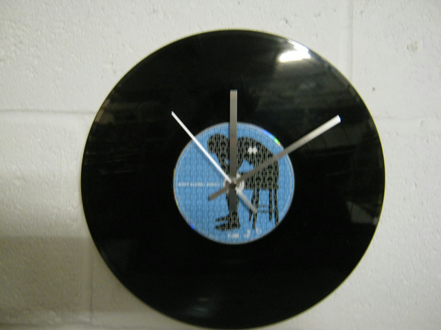 "Biffy Clyro -  ""Puzzle"" 12"" CD & Vinyl Record Wall Clock"