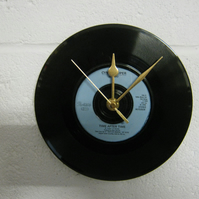 "Cyndi Lauper  - ""Time After Time"" 7"" Vinyl Record Wall Clock"