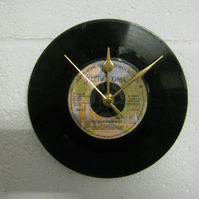 "Fleetwood Mac - ""Go Your Own Way"" 7"" Vinyl Record Wall Clock"
