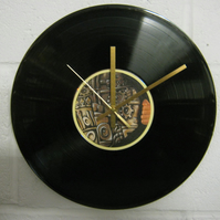 "Biffy Clyro -  ""Machines"" 12"" CD & Vinyl Record Wall Clock"