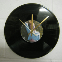 "Miley Cyrus -  ""Malibu"" 12"" CDr & Vinyl Record Wall Clock"