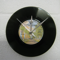 "Fleetwood Mac - ""Dreams"" 7"" Vinyl Record Wall Clock"