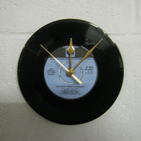 "Arsenal F.C. - ""The Boys From Highbury"" 7"" Vinyl Record Wall Clock"