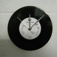 "Salt-N-Pepa - ""Push It"" 7"" Vinyl Record Wall Clock"