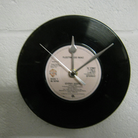 "Fleetwood Mac - ""Gypsy"" 7"" Vinyl Record Wall Clock"