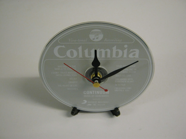 "John Mayer - ""Continuum""CD Desktop or Wall Clock"