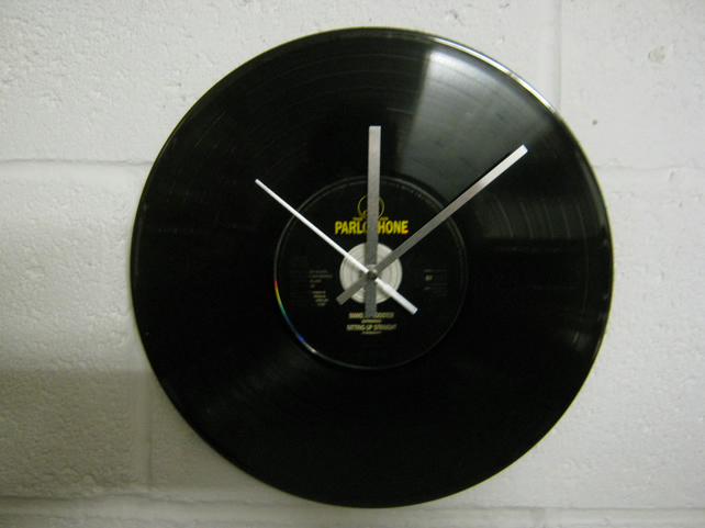 "Supergrass -  ""Mansize Rooster"" 12"" CD & Vinyl Record Wall Clock"