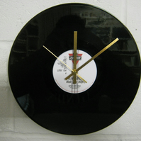 "Run DMC -  ""Walk This Way"" 12"" Vinyl Record Wall Clock"