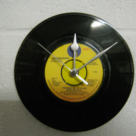 "Talking Heads - ""This Must Be The Place"" 7"" Vinyl Record Wall Clock"