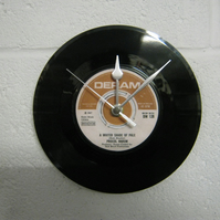 "Procul Harum - ""A Whiter Shade Of Pale"" 7"" Vinyl Record Wall Clock"