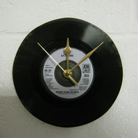 "Extreme - ""More Than Words"" 7"" Vinyl Record Wall Clock"