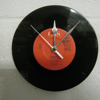 "Toto - ""Africa"" 7"" Vinyl Record Wall Clock"