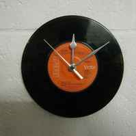 "Lou Reed - ""Perfect Day"" 7"" Vinyl Record Wall Clock"