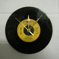 "Billy Paul - ""Me and Mrs Jones"" 7"" Vinyl Record Wall Clock"