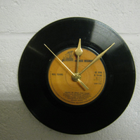 "Neil Young - ""Heart Of Gold"" 7"" Vinyl Record Wall Clock"