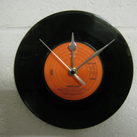 "ABBA - ""Dancing Queen"" 7"" Vinyl Record Wall Clock"