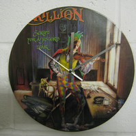 "Marillion -  ""Script For A Jester's Tear"" 12"" Record Sleeve Wall Clock"