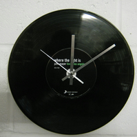 "John Mayer -  ""Where The Light Is"" 12"" CD Record Wall Clock"