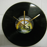 "Alter Bridge -  ""One Day Remains"" 12"" CD Record Wall Clock"