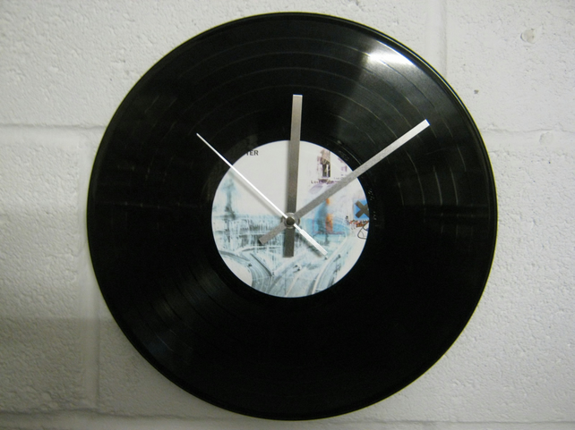 "Radiohead -  ""OK Computer"" 12"" CD Record Wall Clock"