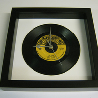 "Etta James - ""At Last"" Framed 7"" Vinyl Record Wall Clock"