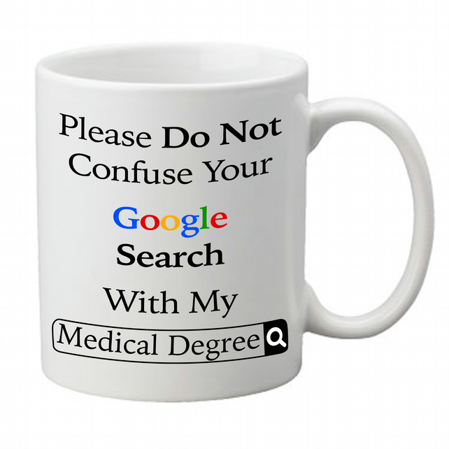 Image result for google medical degree mug