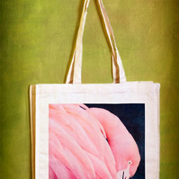 FLAMINGO - TOTE BAGS INSPIRED BY NATURE FROM LISA COCKRELL PHOTOGRAPHY