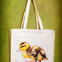 DUCKLING - TOTE BAGS INSPIRED BY NATURE FROM LISA COCKRELL PHOTOGRAPHY