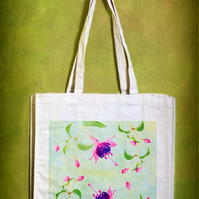 FUCHSIA - TOTE BAGS INSPIRED BY NATURE FROM LISA COCKRELL PHOTOGRAPHY