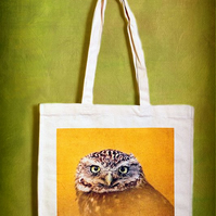 GOLDEN OWL - TOTE BAGS INSPIRED BY NATURE FROM LISA COCKRELL PHOTOGRAPHY