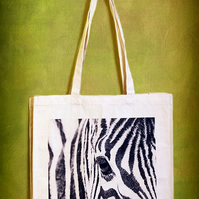 ZEBRA - TOTE BAGS INSPIRED BY NATURE FROM LISA COCKRELL PHOTOGRAPHY