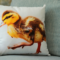 DUCKLING - CUSHION COVERS INSPIRED BY NATURE FROM LISA COCKRELL PHOTOGRAPHY