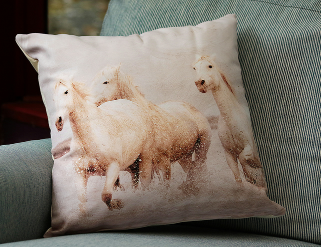 HORSES - CUSHION COVERS INSPIRED BY NATURE FROM LISA COCKRELL PHOTOGRAPHY