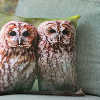 TAWNY OWL - CUSHION COVERS INSPIRED BY NATURE FROM LISA COCKRELL PHOTOGRAPHY