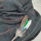 Mallard & Jay Feather Brooch