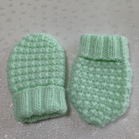 Baby Mittens 3-6 months -NOW 10% REDUCTION
