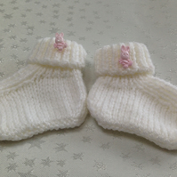 Newborn Baby Booties - OVER 10% REDUCTION