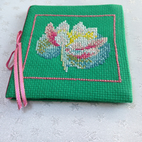Cross Stitch Sewing Needle Case