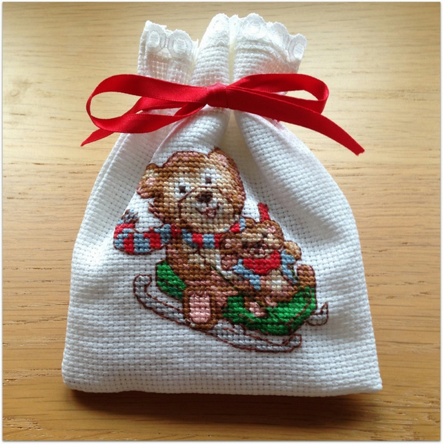 Christmas Lavender Bag