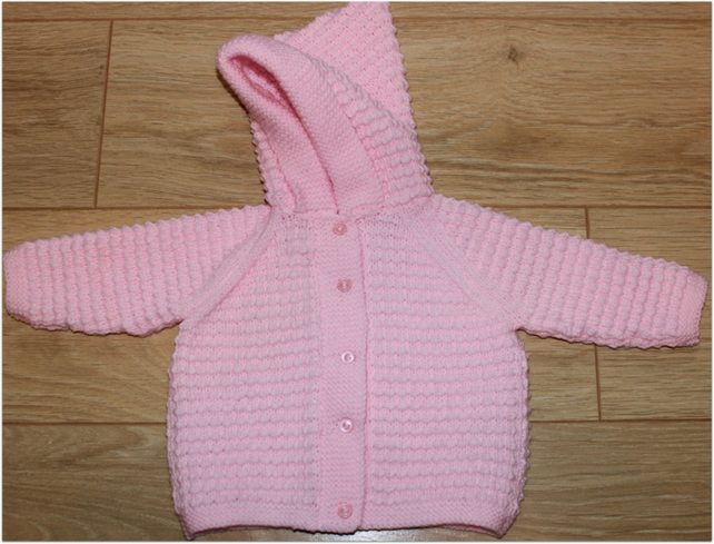 Hooded Baby Jacket 6 - 12 months - N0W 10% REDUCTION
