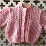 Girl's Cardigan - Chest 20 ins