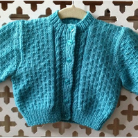 Girl's Cardigan - Chest size 20 ins - OVER 10% REDUCTION