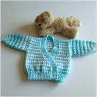 Baby Crossover Cardigan - Girl's 0-3 months