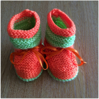 Halloween Baby Booties - 0 - 6 months